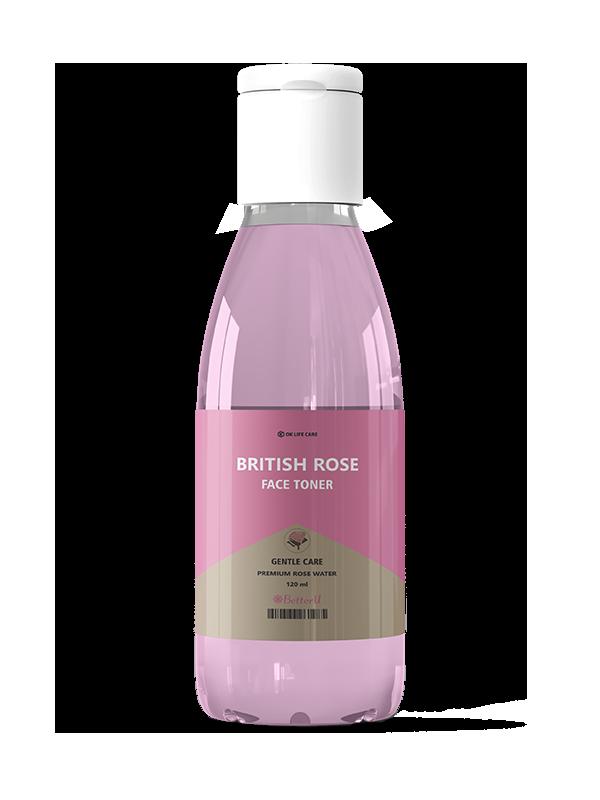 BETTERU BRITISH ROSE FACE TONER 120ml