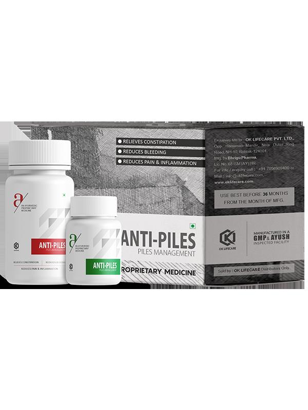 ANTI PILES 30+5 CAPS
