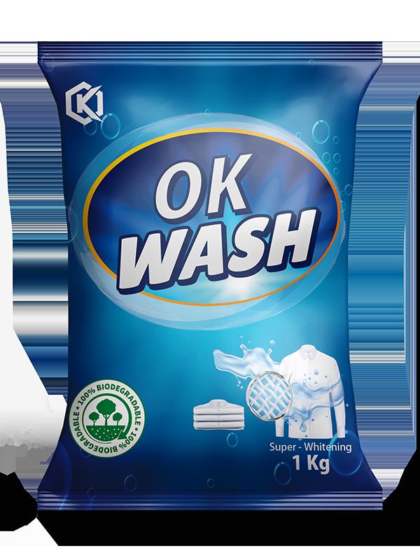 OK WASH DETERGENT POWDER