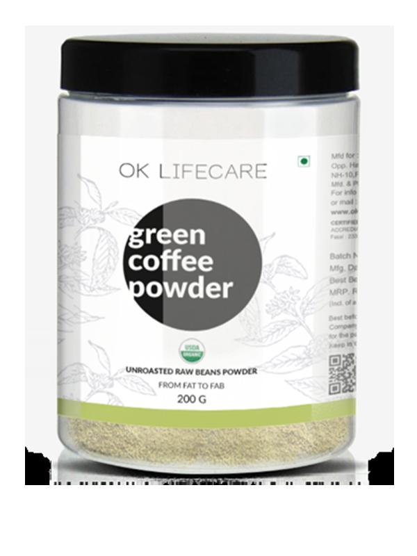 GREEN COFFEE POWDER (200g)