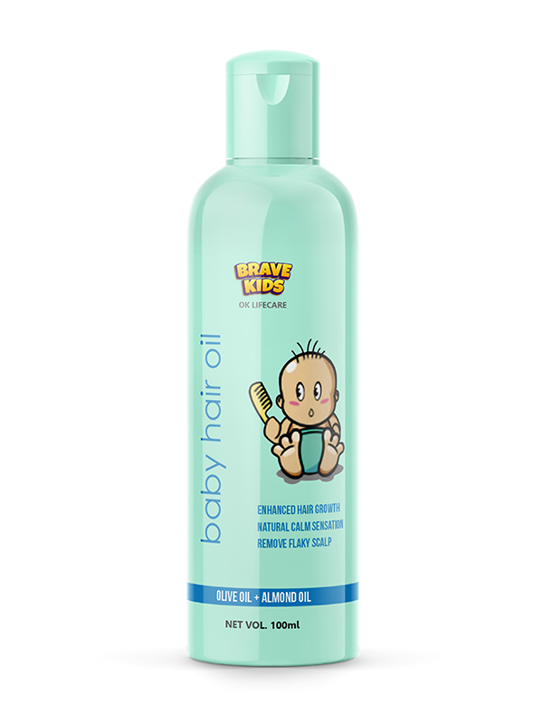 BRAVE KIDS BABY HAIR OIL 100ML