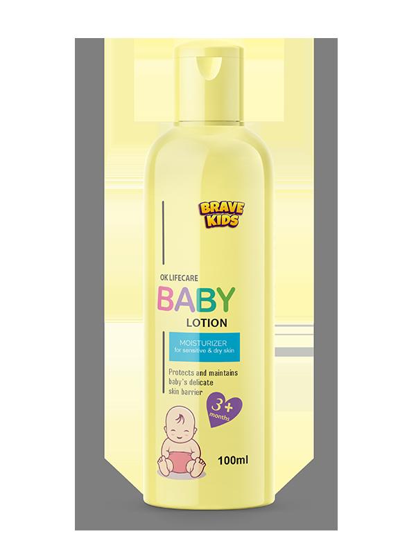 BRAVE KIDS BABY LOTION 100ML