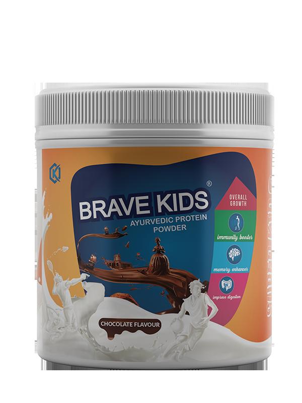 BRAVE KIDS PROTIEN POWDER (CHOCOLATE) 200G